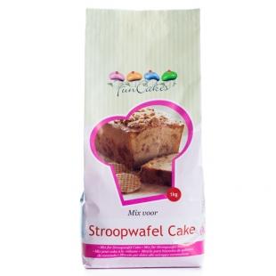 FunCakes Mix voor Stroopwafel (caramel) Cake 1 kg