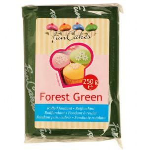 Funcakes Rolfondant Groen Forest Green, 250 gr
