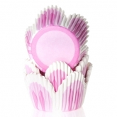 House of Marie Baking Cups Tulp Roze