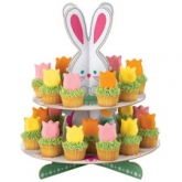 Wilton Bunny Treat and Egg Stand