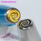 Sugar and Crumbs Nifty Nozzle - 7 Petal Rose