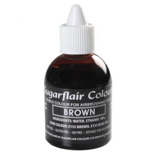 Sugarflair Airbrush Colouring Brown 60ml