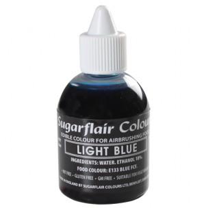 Sugarflair Airbrush Colouring Light Blue 60ml