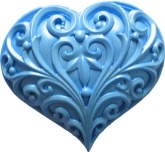 FI Molds Filigree Heart