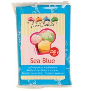 FunCakes Rolfondant Blauw Sea Blue 250g