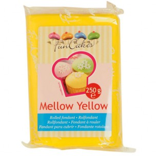 FunCakes Rolfondant Geel Mellow Yellow 250g