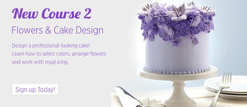 Wilton Methode Course 2, Flowers and Cake Design