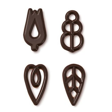 Callebaut Chocolade Decoraties Gala - Puur 60gr
