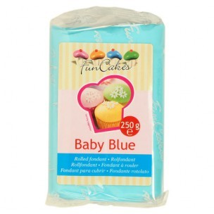 FunCakes Rolfondant Blauw Baby Blue, 250gr