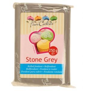 FunCakes Rolfondant Grijs Stone Grey, 250gr