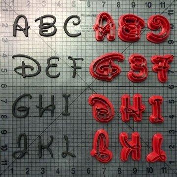 Disney Alfabet Uitstekers Uppercase Set/26
