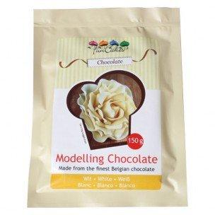 FunCakes Modelling Chocolate Wit, 150 gram