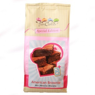FunCakes Special Edition Mix voor American Brownie 1kg