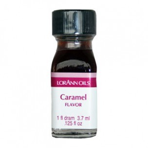 LorAnn Super Strength Flavor, Caramel, 3.7ml