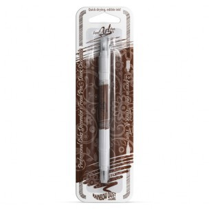 RD Food Art Pen, Dark Chocolate