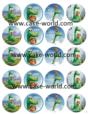 The good dinosaur cupcake print 20st