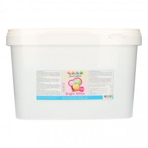 FunCakes Rolfondant -Bright White- 10kg emmer