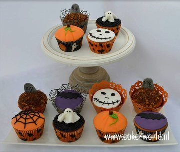 Workshop Halloween Cupcakes Versieren