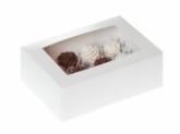 HoM Cupcakes doosje met venster, voor 6 cupcakes