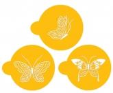 Butterfly Cookie Tops Designer Stencil