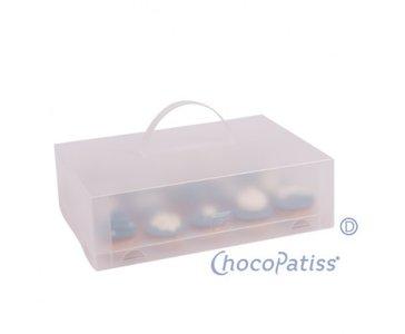 ChocoPatiss Cupcake Box voor 15 cupcakes, glans