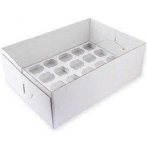PME CupCake Box 24, 14cm hoog