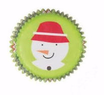 Wilton Snowman Winterwood Christmas Mini Baking Cups, 100st