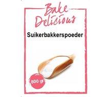 Bake Delicious Suikerbakkerspoeder 800g