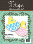 Cookie Cutter & Stencil Set Chick in Egg