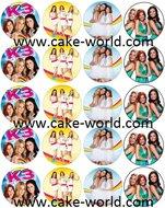 K3 Cupcake Print 20st