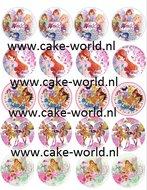Winx Cupcake Print 20st