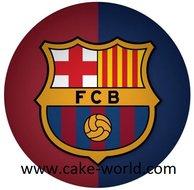 FC Barcelona taartprint