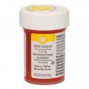 Wilton Icing Color Lemon Yellow, 28 gram