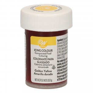 Wilton Icing Color Golden Yellow, 28 gram