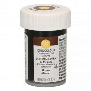 Wilton icing color Brown, 28 gram