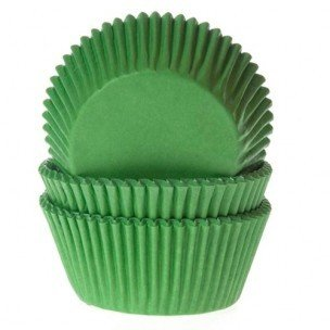 House of Marie Baking Cups Gras Groen 50st.