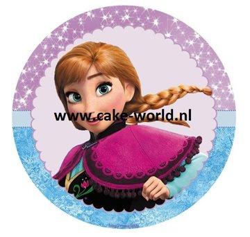 Frozen Anna taartprint 2