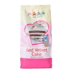FunCakes Mix voor Red Velvet Cake 1 kg