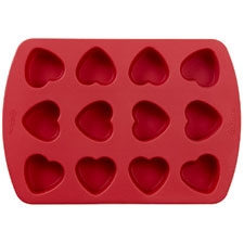 Wilton Silicone Mini Heart Pan