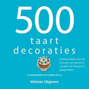 Boek 500 Taartdecoraties