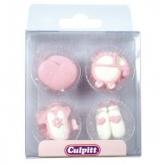 Culpitt Suikerdecoratie Baby Pipings Pink