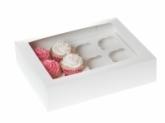 HoM Cupcakes doosje met venster - voor 12 cupcakes