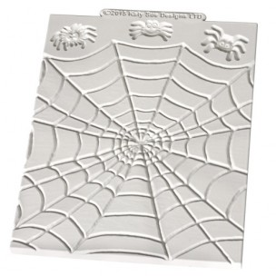 Katy Sue Mould Design mat Spiders &Web