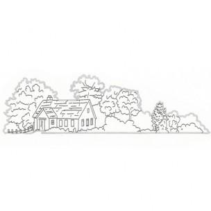Patchwork Cutter House Side Design