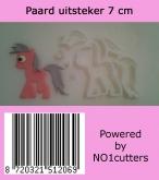 NO1 Cutters Paard Uitsteker