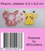 NO1 Cutters Pikachu uitsteker