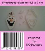 NO1 Cutters Olaf Frozen uitsteker