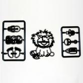 Patchwork Cutter Baby Lion & Nursery