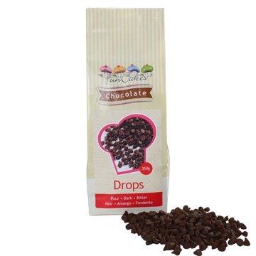 FunCakes Chocolade Drops Puur - 350 gram