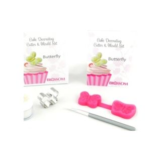 Blossom Art Butterfly Cutter & Mould Set, incl dust & brush